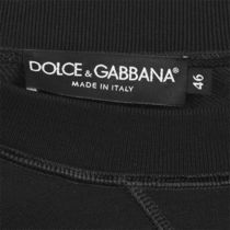 Dolce & Gabbana Sweatshirts Crew Neck Street Style Long Sleeves Logo Luxury Sweatshirts 5