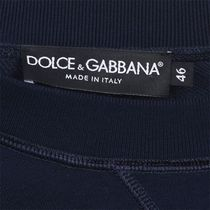 Dolce & Gabbana Sweatshirts Crew Neck Street Style Long Sleeves Logo Luxury Sweatshirts 9
