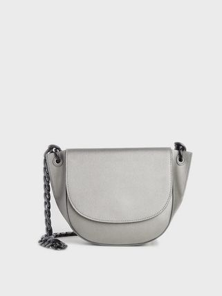 Crossbody Formal Style  Casual Style Blended Fabrics Chain