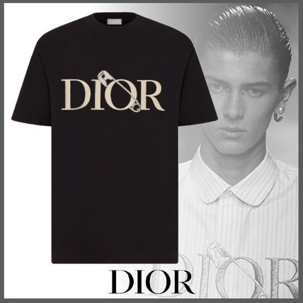 Christian Dior More T-Shirts Street Style Short Sleeves Logo Luxury T-Shirts