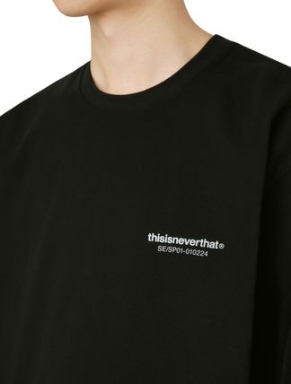 thisisneverthat Sweatshirts Street Style Long Sleeves Cotton Sweatshirts 6