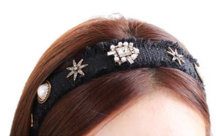 Barettes Party Style Flower Tiaras With Jewels Elegant Style
