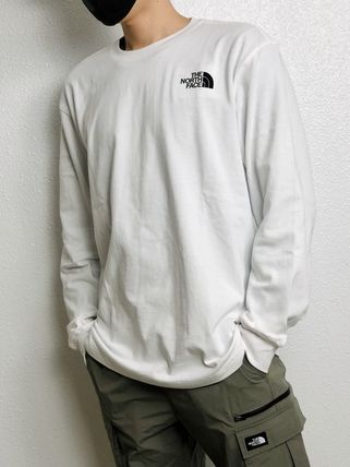 THE NORTH FACE WHITE LABEL Unisex Street Style Long Sleeves Long Sleeve T-shirt Outdoor