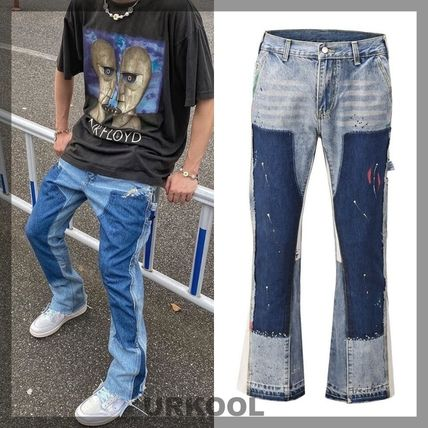 URKOOL More Jeans Denim Street Style Cotton Jeans