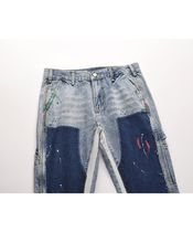 URKOOL More Jeans Denim Street Style Cotton Jeans 4