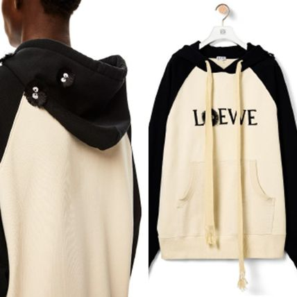 LOEWE Cotton Logo Luxury Hoodies