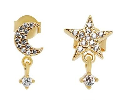 Casual Style Office Style Elegant Style Bridal Earrings