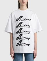 We11Done Crew Neck Cotton Short Sleeves Logo T-Shirts