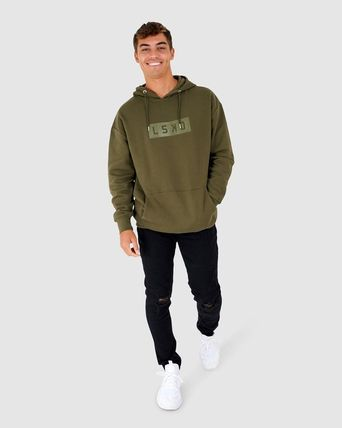 Street Style Long Sleeves Sweatshirts
