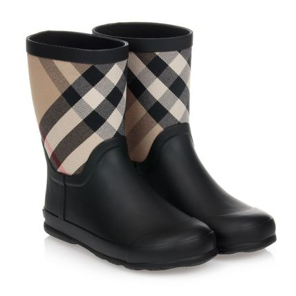 Burberry Kids Girl Rain Shoes