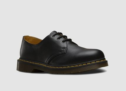 Dr Martens 1461 Unisex Street Style Leather Logo Oxfords