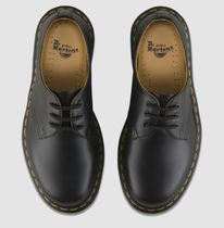 Dr Martens 1461 Driving Shoes Loafers Street Style Plain Leather Logo