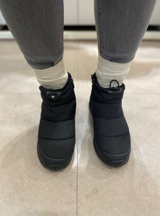 THE NORTH FACE Mountain Boots Casual Style Street Style Plain Logo