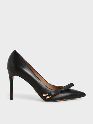 Charles&Keith Formal Style  Bridal Casual Style Plain