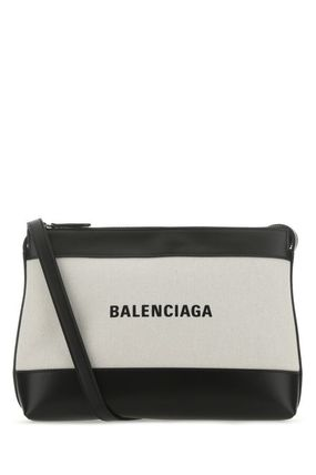BALENCIAGA NAVY Shoulder Bags