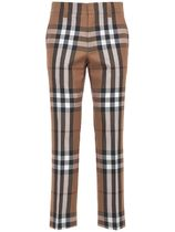 Burberry Tapered Pants Other Plaid Patterns Wool Tapered Pants