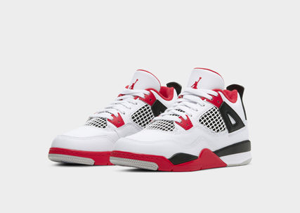 Nike AIR JORDAN 4 Street Style Kids Girl Sneakers