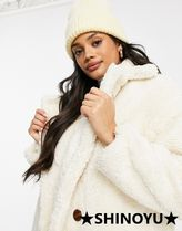 ASOS Casual Style Faux Fur Fur Party Style Office Style