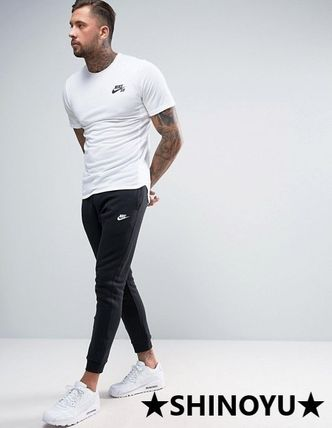 Nike Sweat Street Style Plain Joggers & Sweatpants