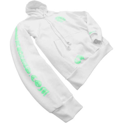 CHROME HEARTS Hoodies Pullovers Unisex Sweat Street Style Long Sleeves Cotton Logo 3