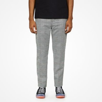 Carhartt Printed Pants Other Plaid Patterns Street Style Logo