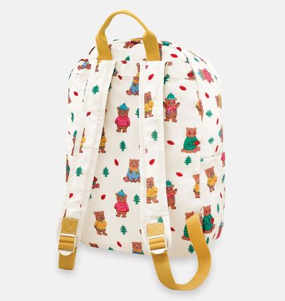 Casual Style Other Animal Patterns Backpacks