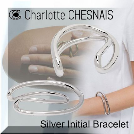 Casual Style Unisex Party Style Silver Elegant Style