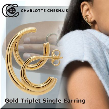 Formal Style  Casual Style Party Style 18K Gold Office Style