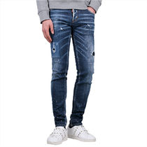 D SQUARED2 More Jeans Denim Street Style Cotton Logo Jeans 6