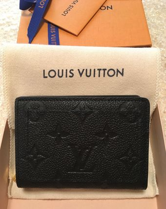 Louis Vuitton MONOGRAM EMPREINTE Cléa Wallet