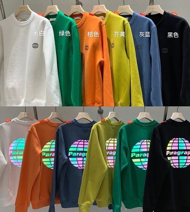 Paragraph Sweaters Long Sleeves Cotton Logo Sweaters