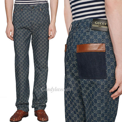 GUCCI More Jeans Eco Washed Gg Denim Pant