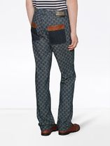 GUCCI More Jeans Eco Washed Gg Denim Pant 4