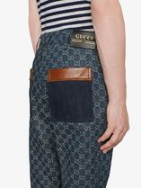 GUCCI More Jeans Eco Washed Gg Denim Pant 5