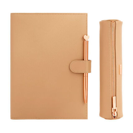 Gift Pack/Leather A5Notebook&Pencase&Ballpointpen