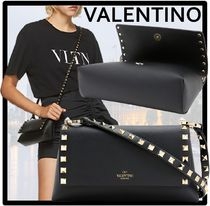 VALENTINO Casual Style Street Style Formal Style  Shoulder Bags