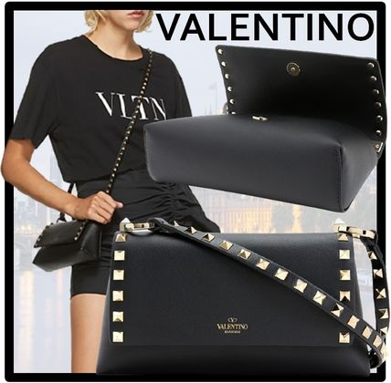 VALENTINO Formal Style  Casual Style Street Style Shoulder Bags