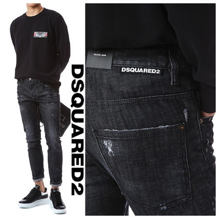 D SQUARED2 More Jeans Denim Street Style Cotton Logo Jeans