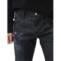 D SQUARED2 More Jeans Denim Street Style Cotton Logo Jeans 15