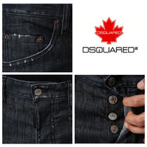 D SQUARED2 More Jeans Denim Street Style Cotton Logo Jeans 16