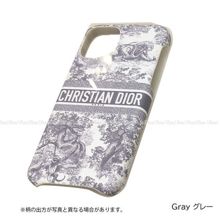 Christian Dior Other Animal Patterns Leather Logo Smart Phone Cases