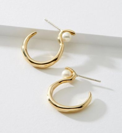 Casual Style Party Style Silver Brass 10K Gold Elegant Style