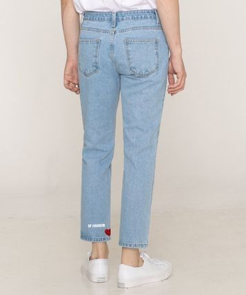 GRAVER More Jeans Tapered Pants Cotton Logo Jeans 3
