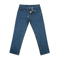 GRAVER More Jeans Tapered Pants Cotton Logo Jeans 14