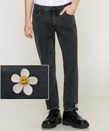 GRAVER More Jeans Tapered Pants Cotton Logo Jeans