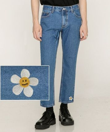 GRAVER More Jeans Tapered Pants Cotton Logo Jeans 2