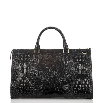 Brahmin Casual Style Leather Formal Style  Satchels