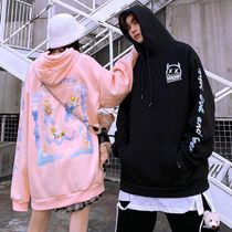 Hoodies Unisex Street Style Long Sleeves Cotton Oversized 8