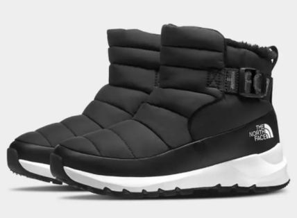 THE NORTH FACE Lace-up Casual Style Logo Lace-up Boots