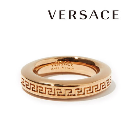 VERSACE Casual Style Unisex Party Style Brass Elegant Style Fine